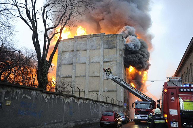 Concordia Mill Fire pic