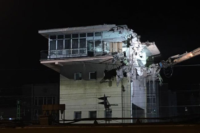 Control Tower Demolition pic